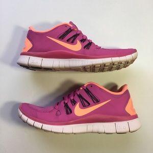 Nike Free 5.0 Women's Running Shoes Size 8